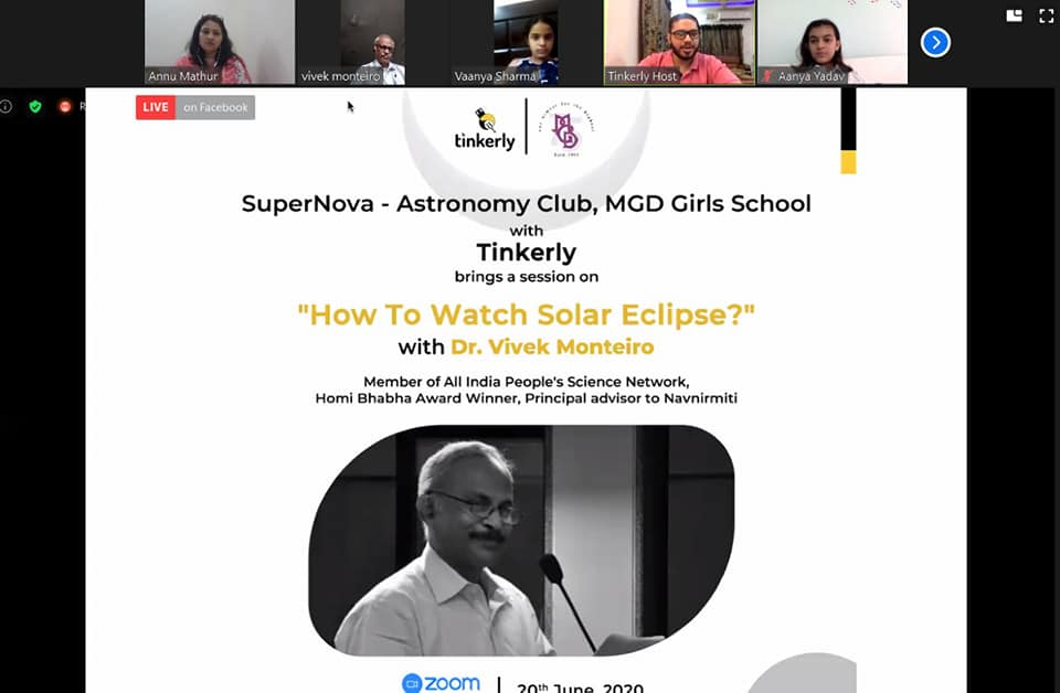 Supernova-Astronomy Club of MGD School