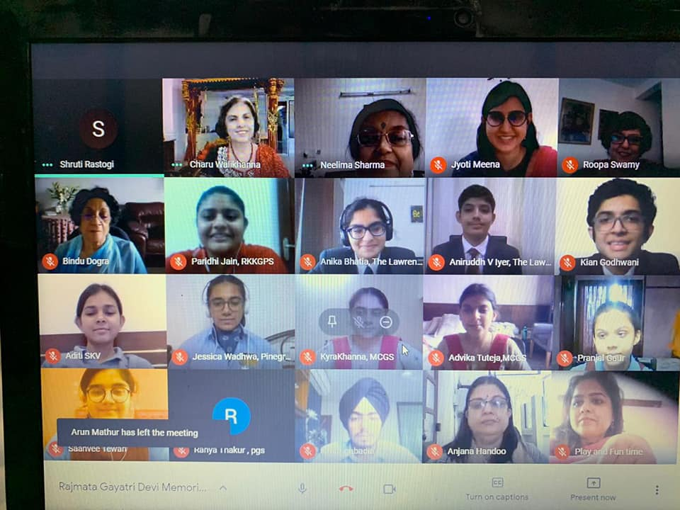 Virtual All India Inter School IPSC Debate in English
