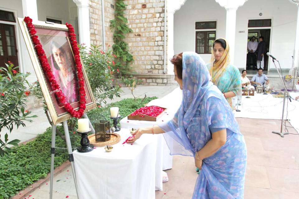 Shradhanjali to our founder -the legendary Maharani Gayatri Devi