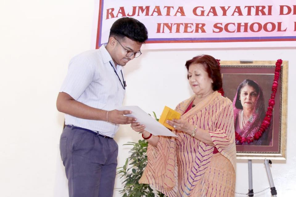 MGD organized Rajmata Gayatri Devi Memorial Debate on 08/08/18