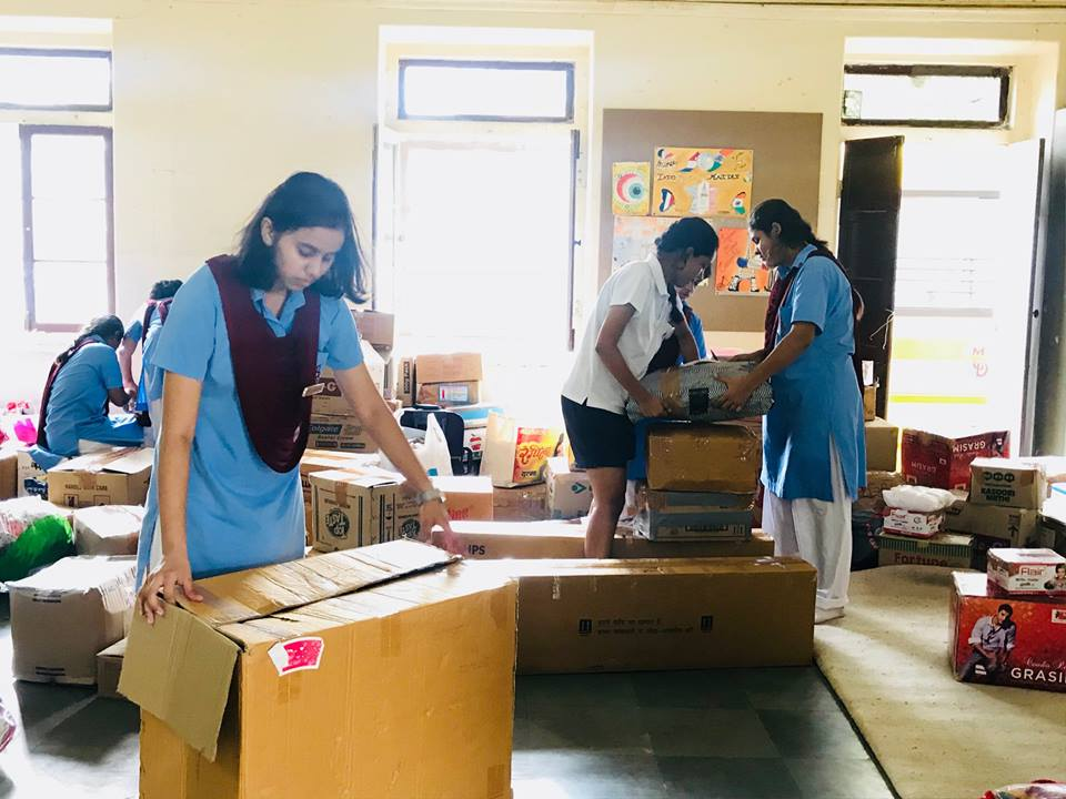 Community Service Club- Donations for Kerala Relief