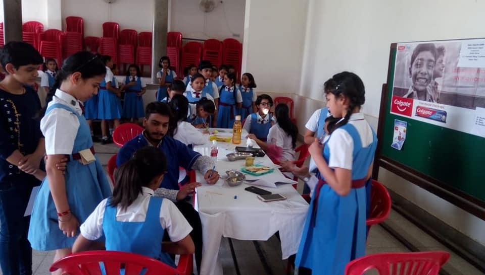 Eye and Dental checkup of all students.
