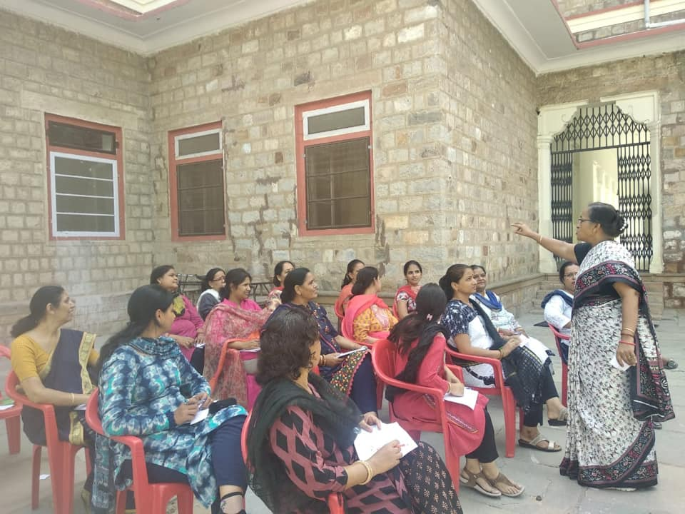 Maths department of MGD Girls'School organized a workshop for teachers.