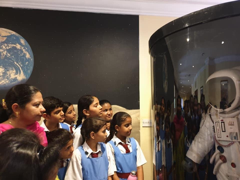 Class VI visit to Birla Planetarium.