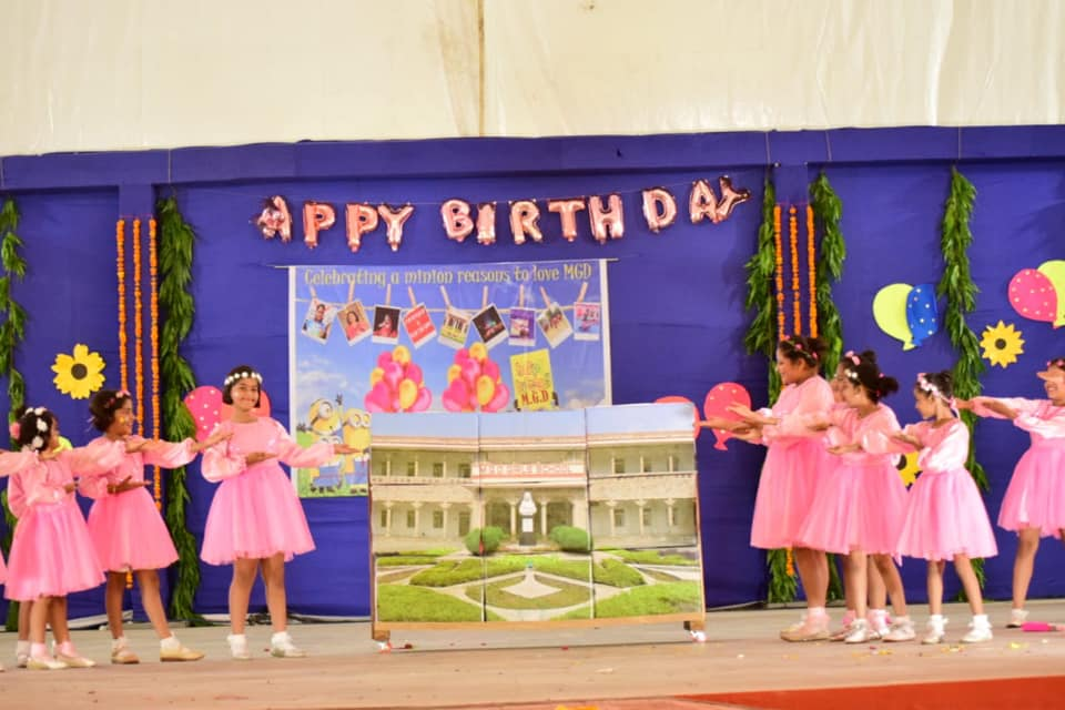 School Birthday celebrations