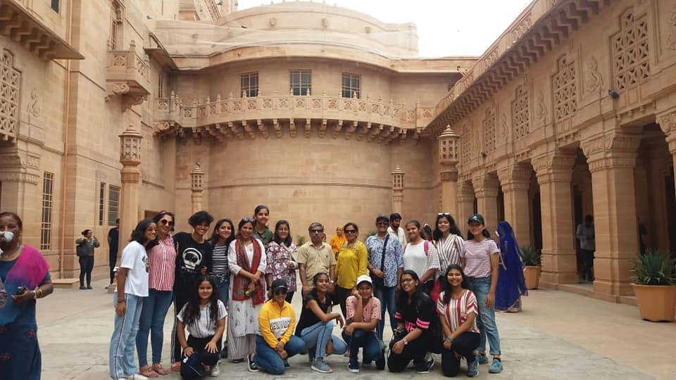 Trip to Jodhpur Jaisalmer for the students of vocational subject Tourism