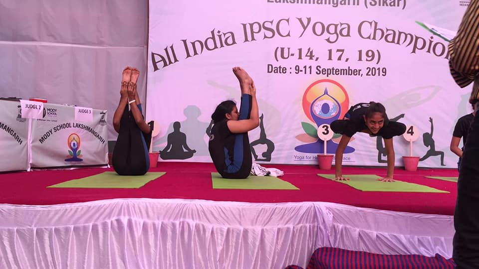 MGD wins IPSC YOGA CHAMPIONSHIP for 9th consecutive year
