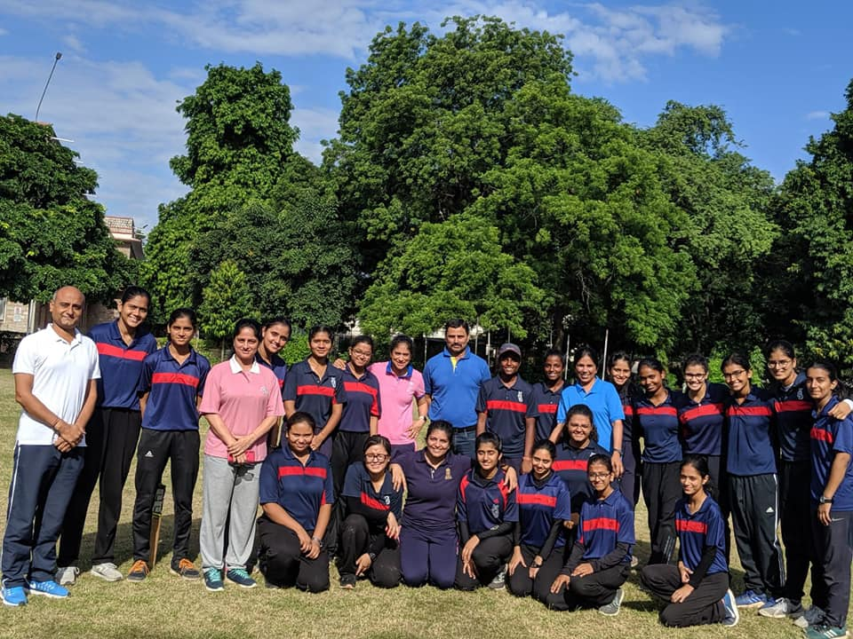 Cricket session- Skill development and counseling on 22nd September 2019