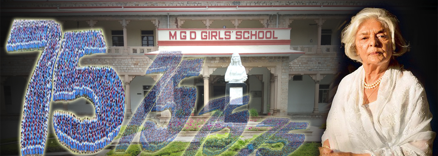 MGD Celebrated 75th School Birthday on 10/08/2018