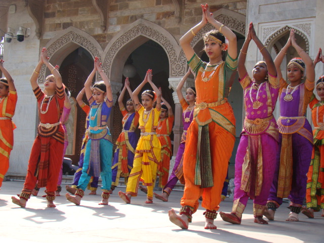 MGDians Performed classical dances and singing at Albert Hall, to encourage Indian Culture and heritage in an event organised by Department of Archaeology