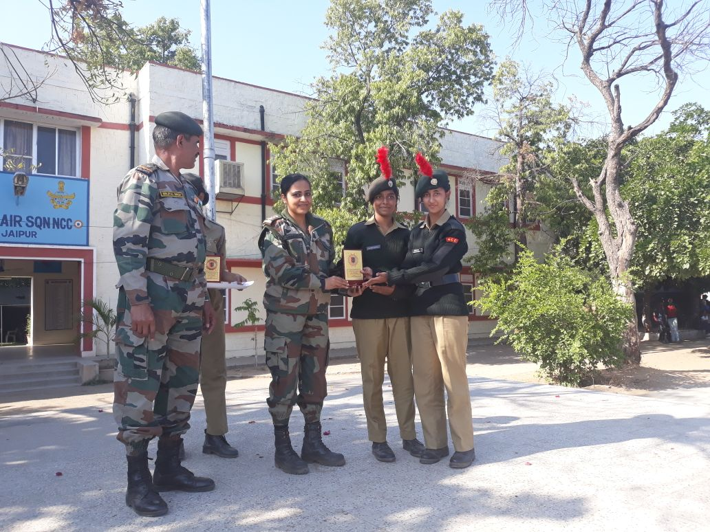 1st position in Line Area Competition
