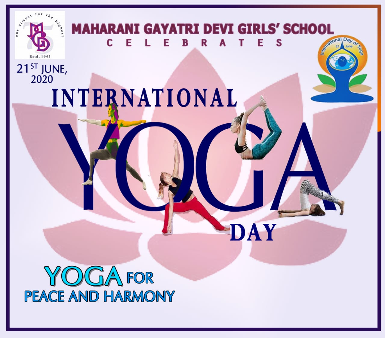 International Yoga Day @ MGD