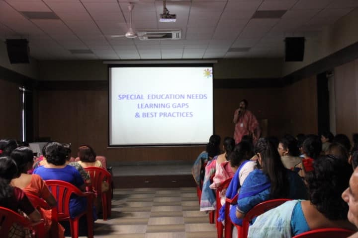 A workshop on SEN ,Learning gaps and best practices ,updating and sensitizing teachers towards children with special needs.