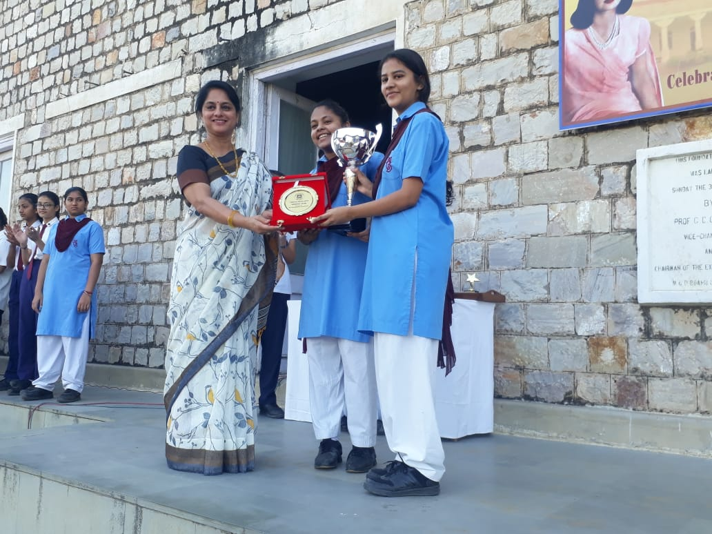 "MGD won the trophy for the ""Best School ""in this event and Khushi Daga was declared as the 3rd best speaker."