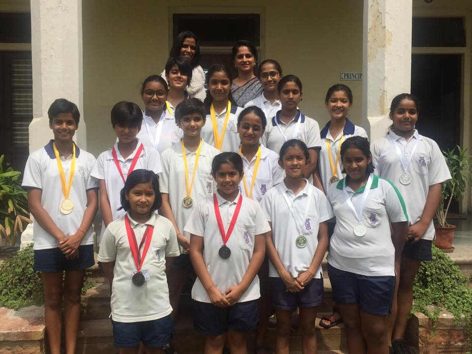 MGD students won 9 golds 6 silver and 3 bronze medals